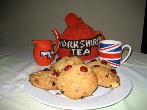 Fat Rascals and Yorkshire Tea